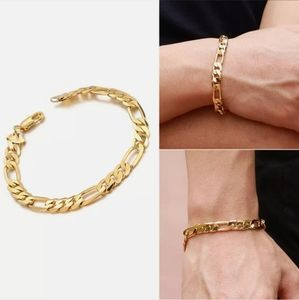 🤜 Gold Figaro bracelet 🤛